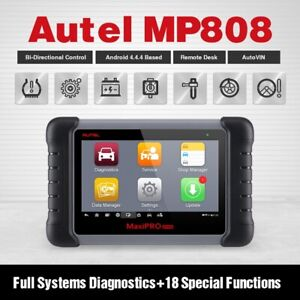 Autel Maxipro Mp808 Obd2 Scanner Diagnostic Reset Tool For Ford Gm Vw Bms Benz