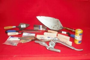 Masonry Bricklayer Tool Set Kraft Marshalltown Bon Trowel Line Tools cp1049629