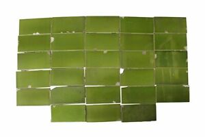 Vintage Green 6 In X 3 In Subway Tile Set