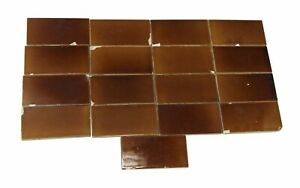 Set Of Brown 6 In X 3 In Subway Tiles
