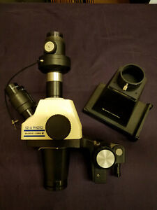 Used Bausch And Lomb Stereozoom Model Sz 6 Photo Dissecting Microscope System