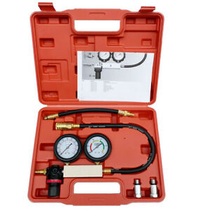 Cylinder Leakdown Tester Leakage Leak Detector Engine Compression Tester Gauges