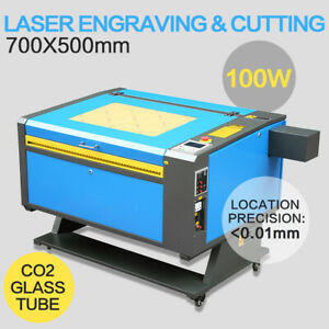 100w Co2 Laser Engraving Engraver Cutter Printer 700x500mm emergency Stop Button