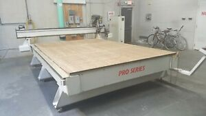 Multicam 8 X 12 Cnc Router Pro Series Wood Plastic Needs Circuit Boards