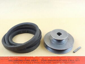 Nice Orig South Bend 9 10k Lathe Steel 2 Step Motor Pulley 5 8 Bore