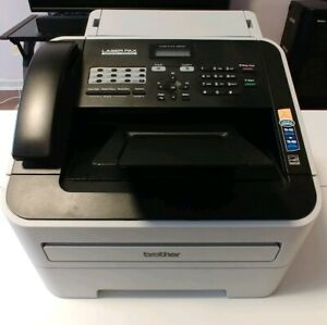 Brother Fax Copy Machine Laser Fax Super G3 33 6 Kbps Intellifax 2840