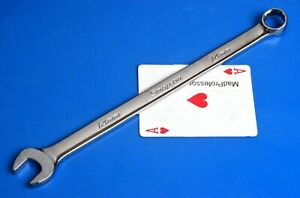 Snap on Tools Metric 14mm Long 12 point Combination Open Box End Wrenc