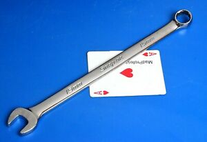 Snap On Tools Metric 15mm Long 12 Point Combination Open Box End Wrench New 2018