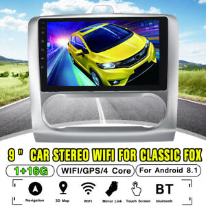 9 Car Radio Stereo 1g 16g Android 8 1 Gps Wifi Navigation For Fox Classic