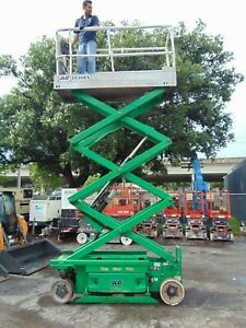 2008 Jlg 2030 es electric Scissor Lift 26 Ft Working Height