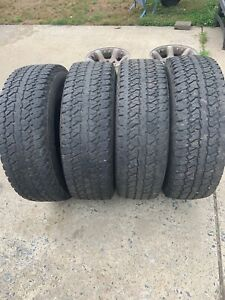 Firestone Destination A T P235 70r16 104s Wl 4 Tires 50 To 65 Tread Left