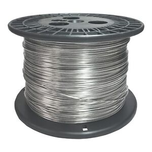 18 Awg Gauge Stainless Steel 316l Wire 500 Length 0 0403 Diameter