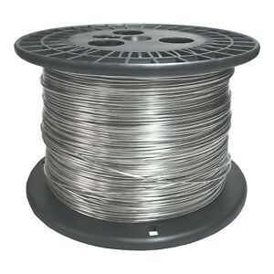 20 Awg Gauge Stainless Steel 316l Wire 500 Length 0 0320 Diameter
