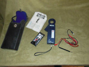 Clamp Tester Voltmeter And Temperature Gauge Ct 300t With Case Clean