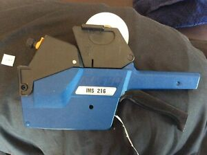 Sato Avery Dennison 216 Double Line Price Label Marker Easy To Load Pricing Gun