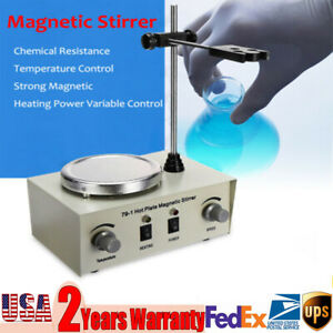 110v 25 150w 1000ml Hot Plate Magnetic Stirrer Mixer Laboratory Stirring Machine