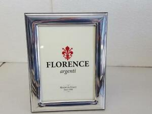 Silver Sheet Photo Picture Frame Handmade 1003 13 18 Gb New