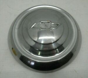 Vintage 1951 53 Chevrolet 9 1 2 Dog Dish Hubcaps 51 52 53 Moon Poverty Wheel