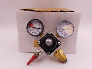 Fox 03d03 169 Cornelius Nitrogen Regulator 5 16b Shutoff Gauges Air Shock Psi