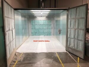Bleeker Industrial Spray Booth 2 Spray Booths oven Mix Room 3 Dust Collectors