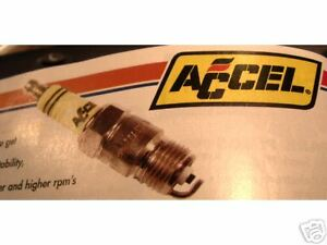 Accel Shorty Header Spark Plugs 576s Set Of 8 Sbc Chevy 350 Ford 302