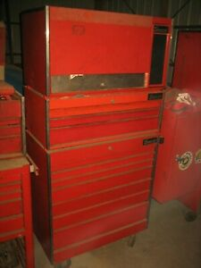Vintage Snap On Tool Box Stack Kr 537a Kr 547 Kr 557b 1978 79