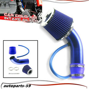 3 Auto Cold Air Intake Filter Alumimum Induction Kit Pipe Hose System Ap59