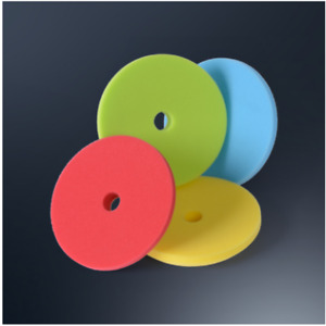 Menzerna 4 Foam Pads 6 Bundle red Yellow Green And Blue 1 Of Each