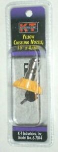 Kt Industries 6 7044 Yellow Chiseling Nozzle 15 Deg X 4 0 Mm Pressure Washer Tip