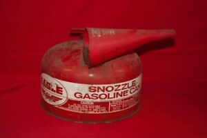 Vintage Eagle 2 1 2 Gallon Snozzle Vented Metal Gas Can model S 2 12 cp1049666