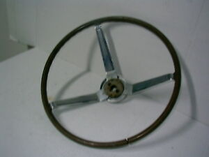 1967 Dodge Charger Steering Wheel Tan Brown 16 Inches Across Fb19
