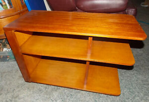 Mahogany Mid Century End Table Side Table Rp