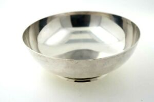 Tiffany Co Makers Sterling Silver 5 Inch Bowl 24020 Excellent