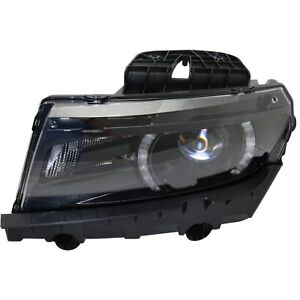 Hid Headlight Driver Side For 2014 2015 Chevrolet Camaro Lt Ss With Rs Package