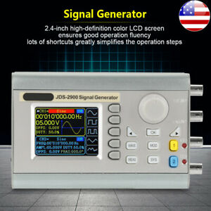 Jds2900 60mhz Dual Channel Function Arbitrary Waveform Dds Signal Generator New