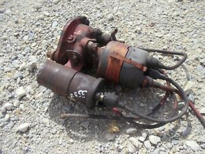 International 300 350 Utility Tractor Ihc Distributor Drive Assembly Wires Coil