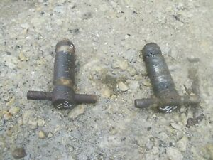 International 350 Utility Tractor Ih Lift Cylinder Pins 2pt Fasthitch Fast Hitch
