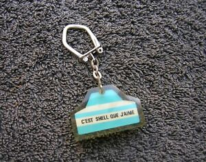 Shell Vintage Car Classic Key Chain Germa Auto Accessory Bmw Mercedes Vw