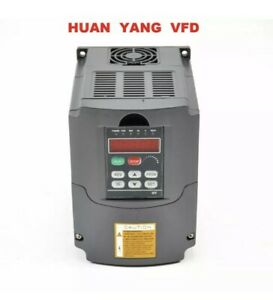 Huan Yang Vsd 2 2kw 110v Variable Frequency Drive Inverter Vfd