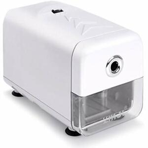 Electric Pencil Sharpener Heavy Duty Helical Blade And Auto stop Feature Plug