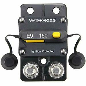 12 48v Dc 150a Surface Mount Circuit Breaker With Manual Reset Waterproof 150amp