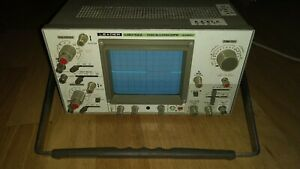 Leader Lbo 522 20 Mhz Oscilloscope Aviation Academy Surplus Used Tester