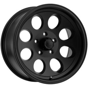 5 Ion 171 15x8 5x4 5 27mm Matte Black Wheels Rims 15 Inch