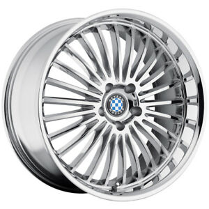 Beyern Multi 17x8 5x120 15mm Chrome Wheel Rim