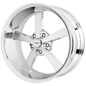 American Racing Vn508 Super Nova 5 22x9 5x115 15mm Chrome Wheel Rim 22 Inch