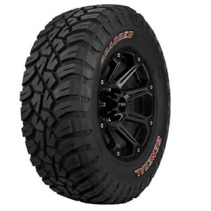 4 new 35x12 50r17lt General Grabber X3 121q E 10 Ply Red Letter Tires