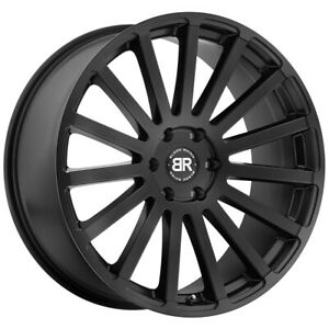 Black Rhino Spear 20x9 6x139 7 6x5 5 15mm Matte Black Wheel Rim