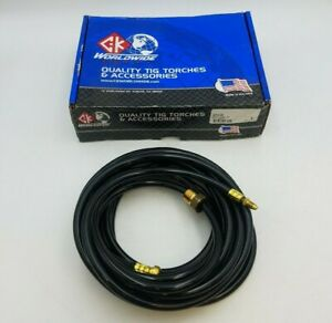 Ck Worldwide 41v29 Power Cable Welding Tig Torches 25 Foot Standard Style Nos