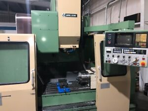 Used Mori Seiki Mv 40b Cnc Vertical Mill 4th Axis 20 Tools Fanuc Vmc