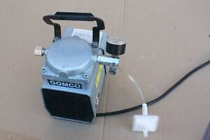 Gomco gast Vacuum Pump Model Doa v718 aa 115v 60hz Medical dental